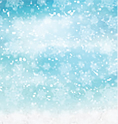 Watercolor christmas snowflakes 2410 vector