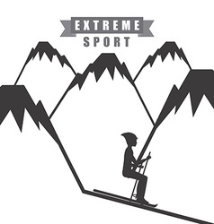 extreme sport vector image vector image