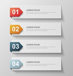 paper infographic63 vector image vector image
