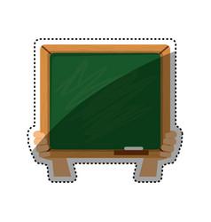school blackboad isolated vector image vector image