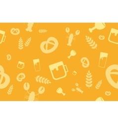 Holiday Oktoberfest Seamless Pattern vector image