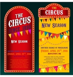 Circus banners 02 b vector
