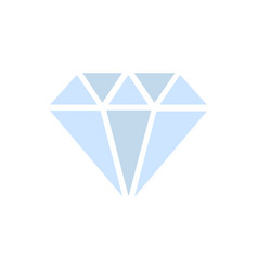 diamond crystal stone jewelry - expensive gift vector image