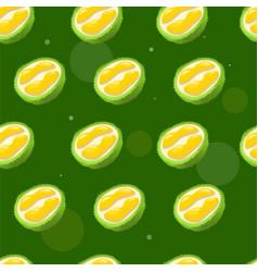Durian pattern cartoon style vector