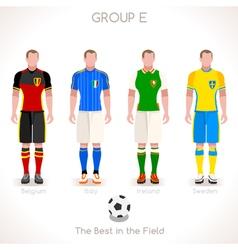 EURO 2016 GROUP E Championship vector