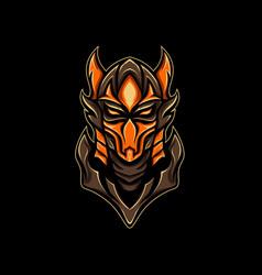 hell knight vector image