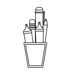 pen utensil icon vector image