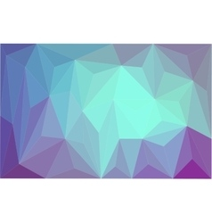 Polygonal which consist of triangles vector image
