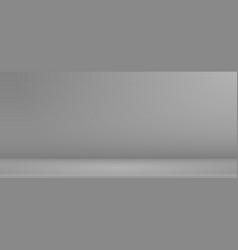 Scene mockup minimalist empty podium for branding vector