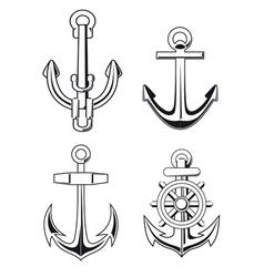 Set of anchors symbols vector