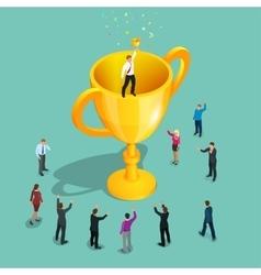Winner Innovative thinking leadership vector
