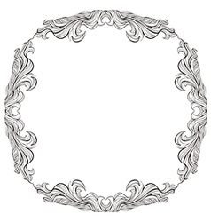Vintage frame with place for text or picture For vector image vector image