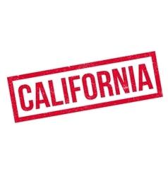 California rubber stamp vector