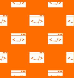 Code window pattern seamless vector