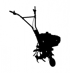 cultivator vector image