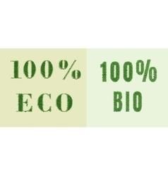 Environmental nature design vector