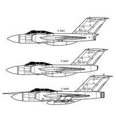 Gloster javelin vector