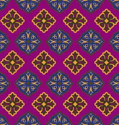 Islamic asia background Pattern ramadan seamless vector image
