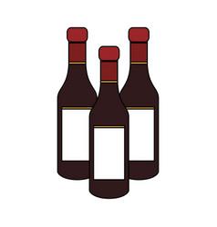 liquor bottle icon image vector image