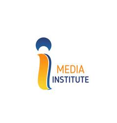 media institute emblem vector image