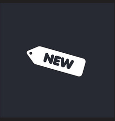New label template design vector