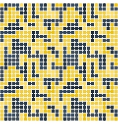 Seamless pattern of randomly connected vector