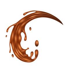 Splash iconrealistic icon isolated vector