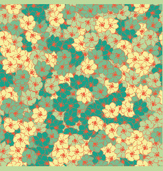 spring flower multicolor wallpaper seamless vector image