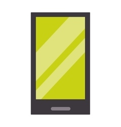 Tablet computer smartphone screen vector