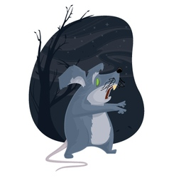 Zombie Mouse vector image