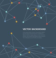 polygonal background1 vector image vector image