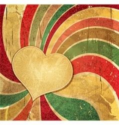 vintage romantic grunge vector image