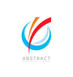 Application - business logo concept vector