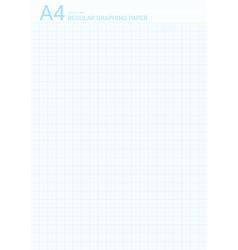 Graph paper background blue plotting millimeter vector