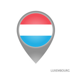 luxembourg point vector image