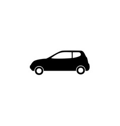 mini car icon element of car type icon premium vector image