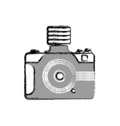 Photographic camera shutter vector