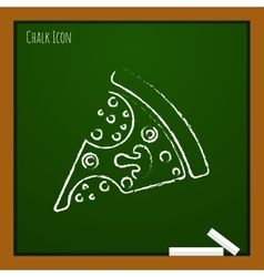 pizza icon Eps10 vector image