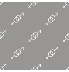 Sex seamless pattern vector image