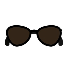 sunglasses fashion isolated icon design vector image