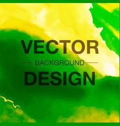 Watercolor background bright splash of colors vector