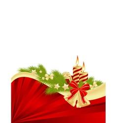 abstract christmas frame 1 vector image