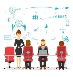 Business Brainstorming Design vector