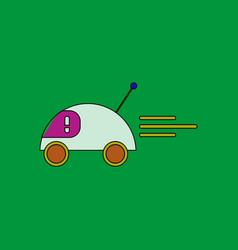 Flat icon design collection remote control car vector
