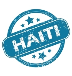 HAITI round stamp vector