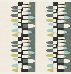 Seamless abstract mid-century modern pattern vector