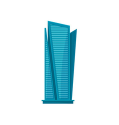 skyscraper modern city skyline building vector image