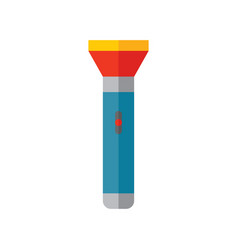torch - colored icon on white background vector image