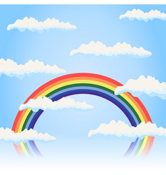 rainbow4 vector image vector image