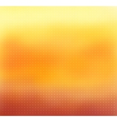 Yellow-orange color blurred background vector image vector image